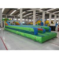 Quality Attractive Inflatable Bungee Jump / Runway , Kindergarten Baby Bungee Run Bounce House for sale