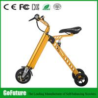 Quality Street Legal Three Wheel Electric Scooter Stable Current Two Solid Tire for sale