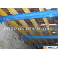 Quality Steel Square Tube Climbing Formwork System , Trailing Level Shaft Platform Painted for sale