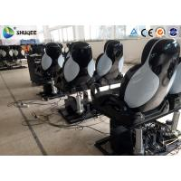 Buy 3 DOF Movement Fiberglass Chair 5D Movie Theater System 12 Seats For Park at wholesale prices