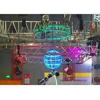 Quality Aluminum Silver Led Display Hanging Stage Lighting Truss Convenience Anomaly Truss for sale