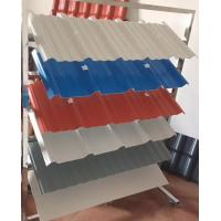 Quality Light Weight Composite Plastic Spanish Roof Tiles Thamal Resistance for sale
