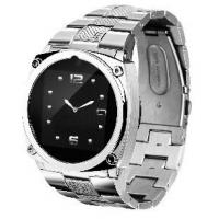 Quality TW818 Stainless steel wrist watch phone , good design can be ware by lady for sale