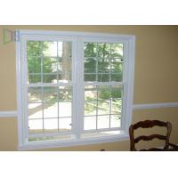 Heat Insulation Vertical Opening Windows , Double Hung Replacement Windows
