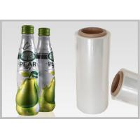Quality Compostable Polylactic Acid PLA Shrink Film For Full Body Shrink Sleeves for sale