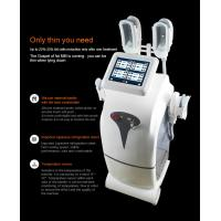 Quality White Color4Handles Fat  Freezing Machine / Slimming Body Shaping Machine for sale