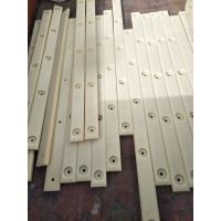 Quality Nylon polyamide plastic strips with CNC drilling service for sale