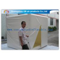 Cube Mini Inflatable Air Tent 2.4m Customized Fire Resistance for Advertisement for sale