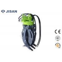 Buy cheap 5 Tooth Excavator Rock Grab 1400mm Jaw Opening Hydraulic Power CE Certified from wholesalers