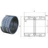 330870 BG four row tapered roller bearing, TQON/GW Design SKF Bearing code for sale