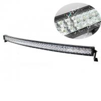 Quality 52'' 288W 25920lm 5D Curved LED Light Bar Black Color Housing Water Resistant for sale