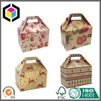 Quality Gable Shape Matte Color Printing Paper Box; Gable Paper Packaging Gift Box for sale