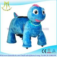 Quality Hansel animales electricos montables stuffed ride electric animal car for sale