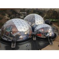 Buy cheap Spacious 20M Diameter Geodesic Dome Tent With Transparent Fabric from wholesalers
