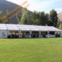 Quality Mobile Aluminum Marquee Wedding Party Tent Assembled Rainproof Event Tents for sale