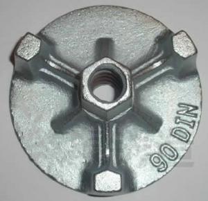 Quality China Form-tie nut, galvanized flanged Wing nut, formwork wing nut, formwork accessories for sale