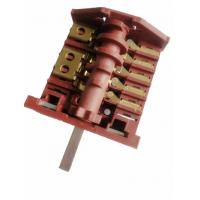Buy cheap AC6 Big Oven Rotary Switch Red Nylon , 16A Electric Stove Selector Switch from wholesalers