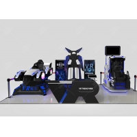 Quality Other Amusement Park Products Virtual Reality Interactive Gaming Center Vr 9d Theme Park Vr Zone for sale