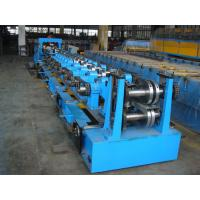 Quality C Purlin Roll Forming Equipment  / Cold Roll Forming Machine with Gearbox Drive for Steel C Purlin for sale