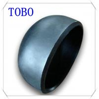 Quality TOBO Butt Welding Fitting Pipe Caps Sch 40 Carbon Steel Vent Pipe Fitting Caps for sale