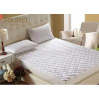 Quality Luxury Terry Cloth Hotel Bed Protector Waterproof  TPU On Elastic Against Perspiration Liquid for sale