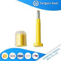 TX-BS201 China manufacturer waterproof liquid material red/blue/white 8mm bolt security seals for sale