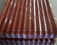 Quality High Strength Prepainted / Galvanized corrugated metal roofing sheet for sale