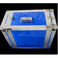 Quality Blue Shine Royal Stuidy Flight Case Shockmount Rack Case For Transportation / Storage for sale