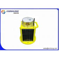 Quality Self contained 256 IALA characters LED Solar Marine Lantern GPS sync GSM Monitoring for sale