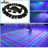 Quality 32 Heads Mobile RGB Laser Light Net/Stage Laser Curtain for sale