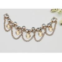 Fashionable Shoe Accessories Chains Elegant Exquisite Environmental Plated