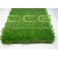 Quality C Shape Realistic Artificial Grass Turf 12000 Dtex For Home Area Decoration for sale