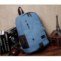 Quality Outdoor canvas backpack unisex travel backpack bag with laptop compartment for high school students for sale