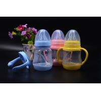 Buy BPA Free super wide neck Temperature change color PPSU baby feeding bottle 180ml at wholesale prices