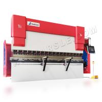 Quality HARSLE 4+1 axis CNC hydraulic press brake manufacturers with automatic robotic bending system for sale