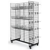 Quality Supermarket Snack Display Rack , Metal Hanging Display Racks For Retail Stores for sale