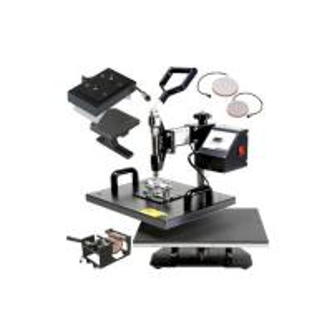 JW-5IN1 multi-function sublimation heat press machine