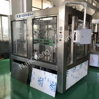Quality Touch Screen Mineral Water Bottle Filling Machine , 3 In 1 Filling Machine for sale