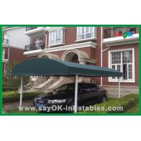 China Outdoor Shade Canopy Folding Tent UV Resistant Car Parking Tent Aluminum Frame on sale