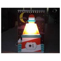 Quality Page book USB Calendar light stylish magic color changing GK-CLB-01 for sale