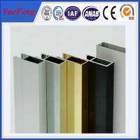 Quality Aluminium alloy aluminium window profiles, aluminium rails for windows glass for sale