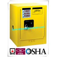Quality 4 Gallon / 15 L Chemical Safety Storage Cabinets Manual Closing For Laboratory for sale