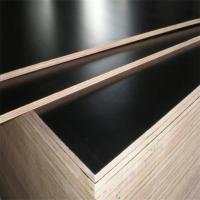 Buy Film faced WBP 1220*2440mm Brown black cheap shuttering plywood in concrete at wholesale prices