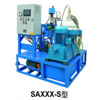 Quality 380V / 50Hz Heavy Fuel Oil Purifier PLC Auto Controlled Industrial Decanter for sale