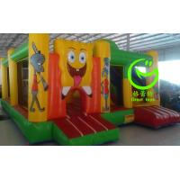 Buy 2016 hot sell Spongebob  inflatable bounce house with 24months warranty from GREAT TOYS at wholesale prices