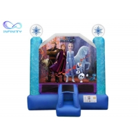 Quality 1000D 3 In 1 Jumping Castle Inflatable Trampoline Bouncer for sale