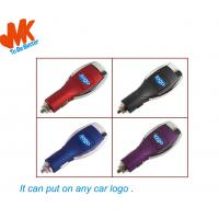 Quality 5W 700mA Micro Usb Car Chargers With Plastic Case Material For Any Car for sale