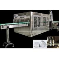 China Automatic Glass Bottle Filling Machine , Sparkling Mineral Water Production Line / Bottling Line on sale