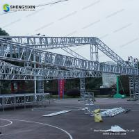 New Hot Sale Aluminum Lighting Truss Spigot Truss for exhibition High Quality Factory Price Booth Truss for sale