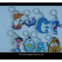 Quality NEW Design 3D Cartoon PVC Keychain/key ring/keyring for promotional gifts for sale